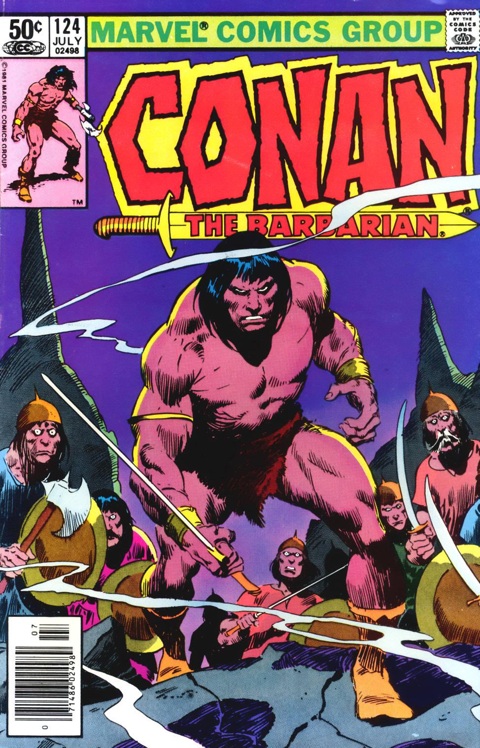 Conan the Barbarian 124