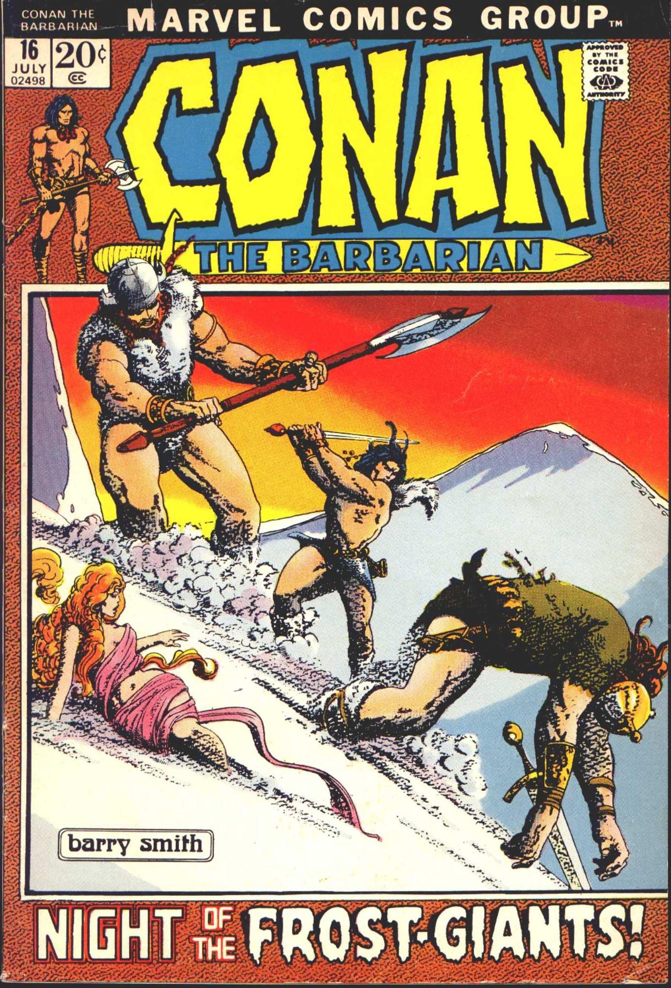 Conan the Barbarian 16
