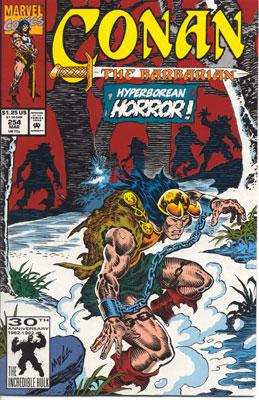 Conan the Barbarian 254