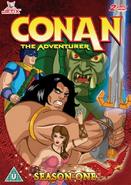 Conan the Adventurer DVD Season One
