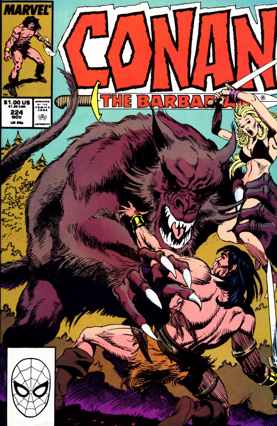Conan the Barbarian 224