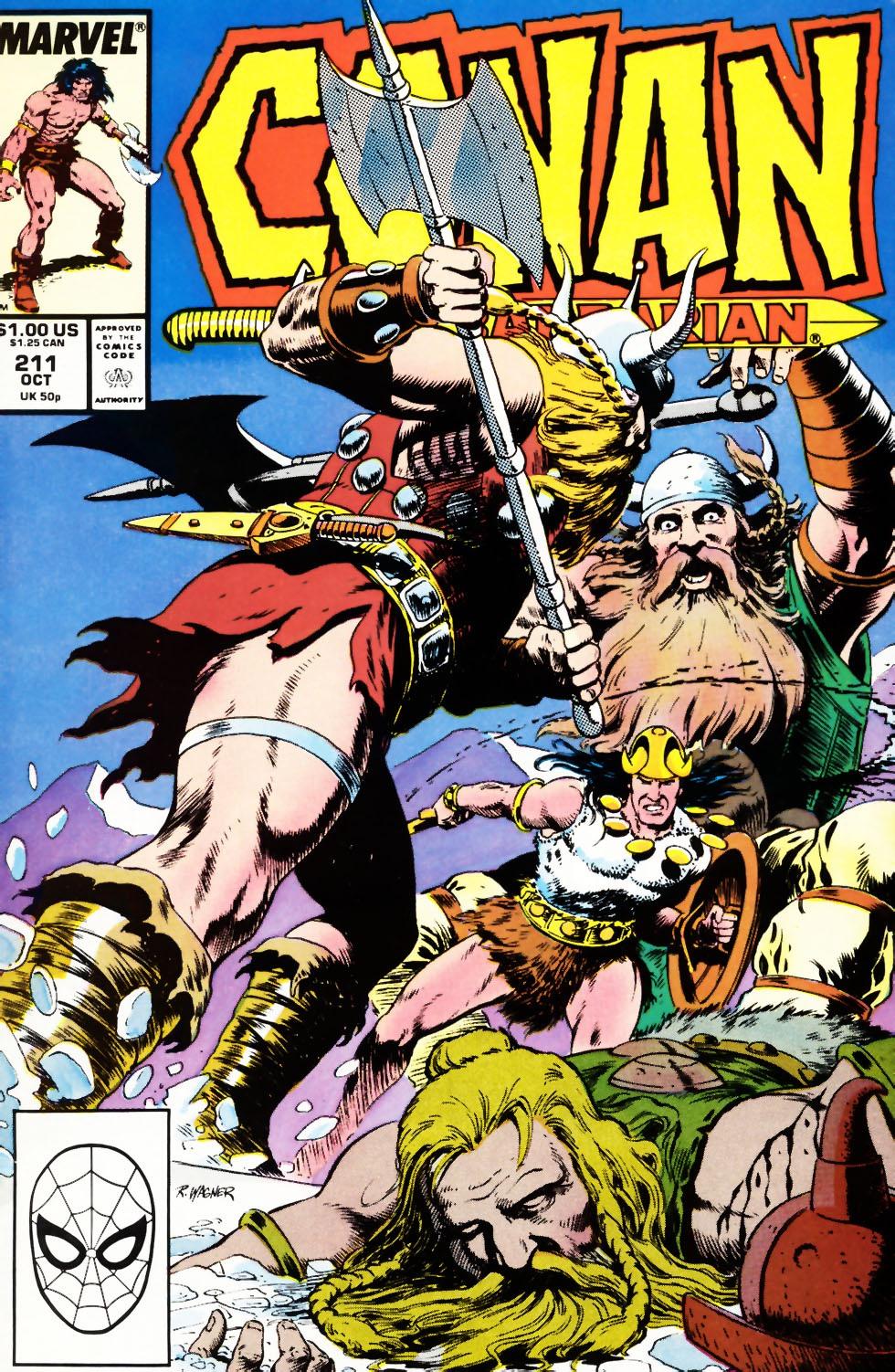 Conan the Barbarian 211