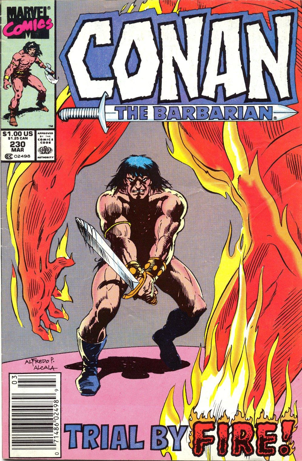 Conan the Barbarian 230