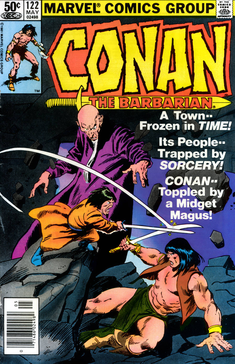 Conan the Barbarian 122
