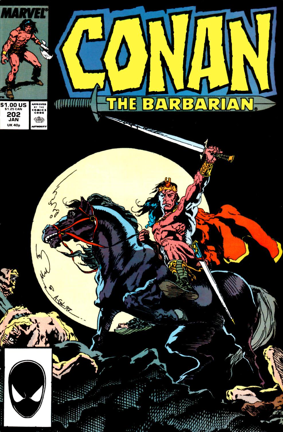 Conan the Barbarian 202