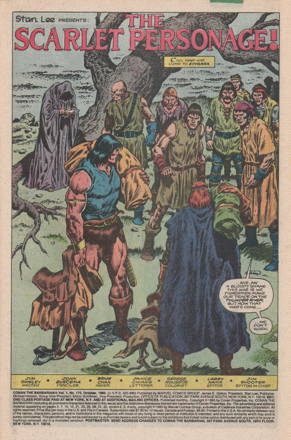 Conan the Barbarian 175