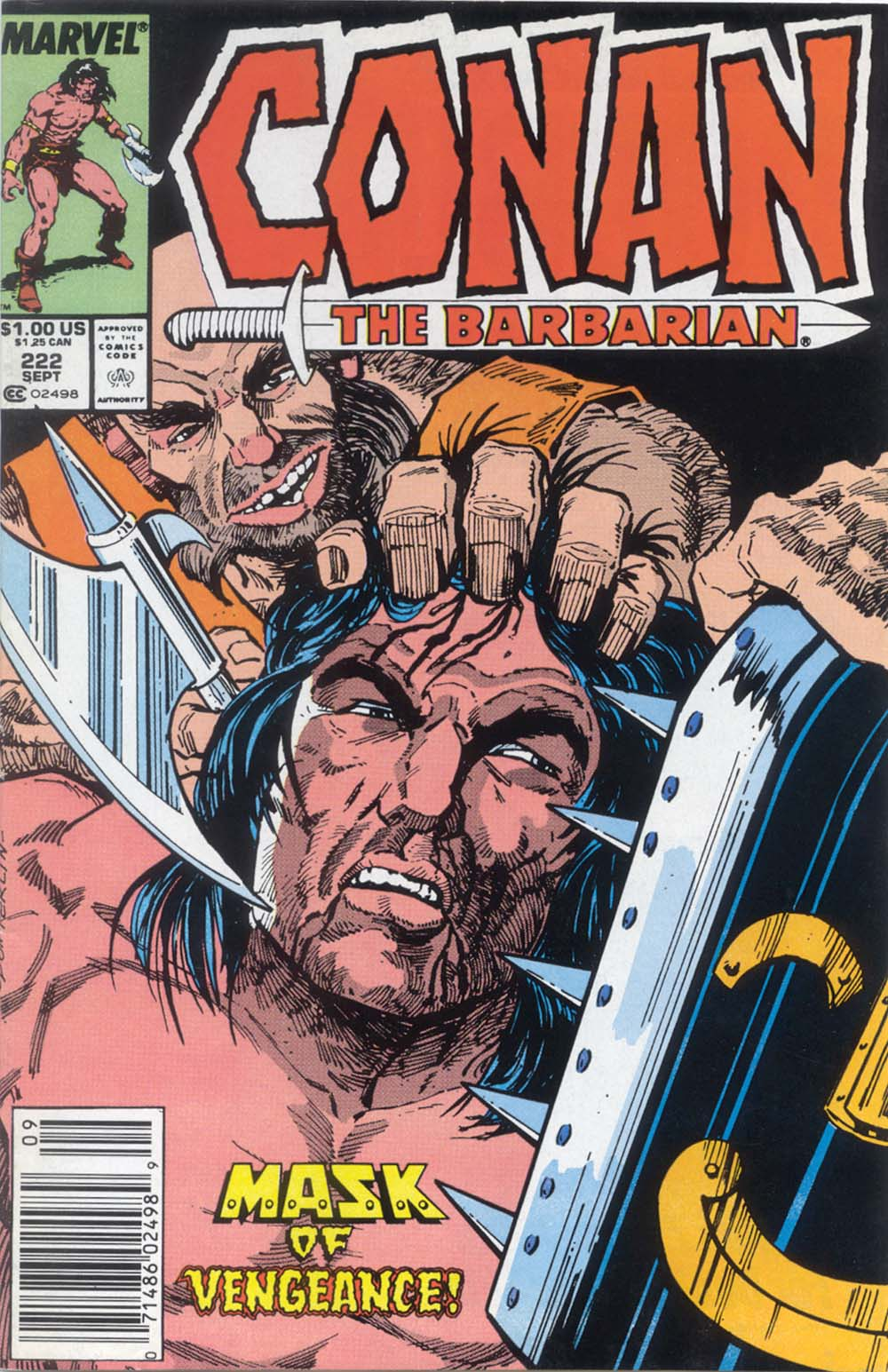 Conan the Barbarian 222