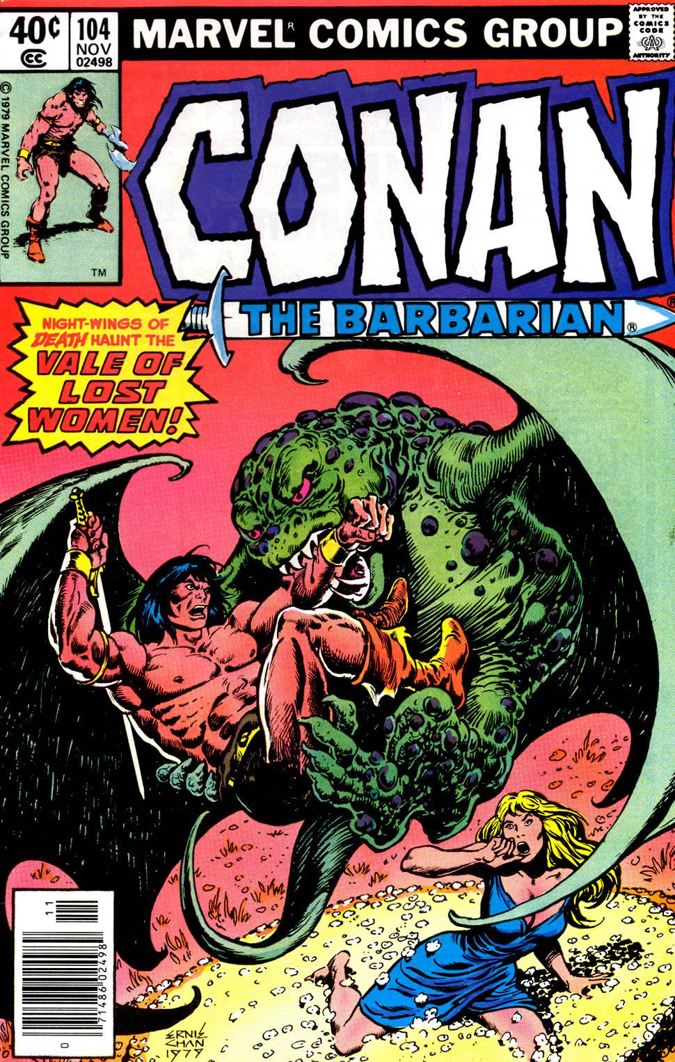 Conan the Barbarian 104