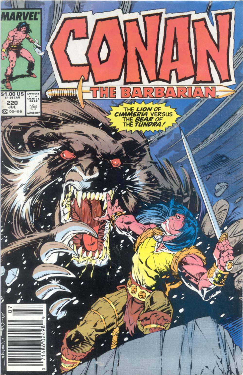 Conan the Barbarian 220