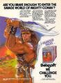 Conan Hall of Volta game ad