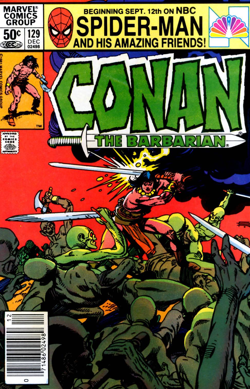 Conan the Barbarian 129