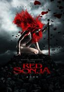 Red Sonja promotion poster 2
