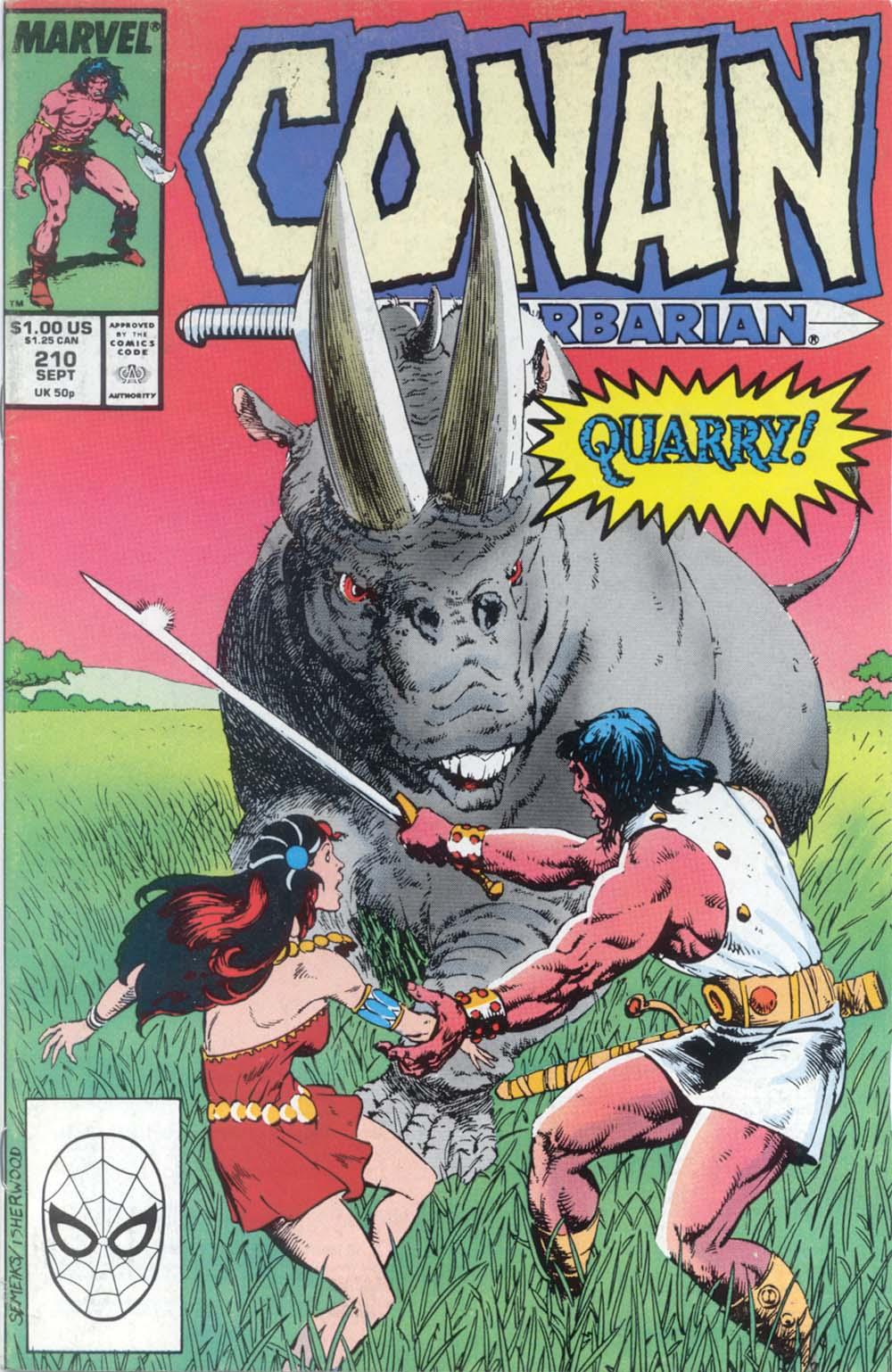 Conan the Barbarian 210