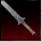 Épée à deux mains en fer