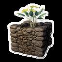 Decorative Planter (Yellow Lotus)