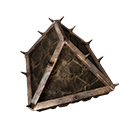 Reinforced Wooden Rooftop End