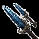 Flawless Obsidian Daggers