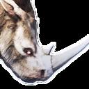 Greater Siptah Rhinocerous