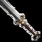 Épée à deux mains durcie