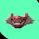 Flawless Yamatai Demon Mask