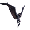 Taxidermied Bat-demon