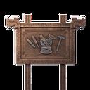 Standing Sign (Armorsmith)
