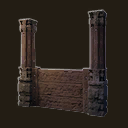 Stable Fence (Pillars)