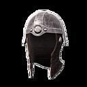 Heavy Leather Helmet