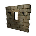 Reinforced Stone Frame