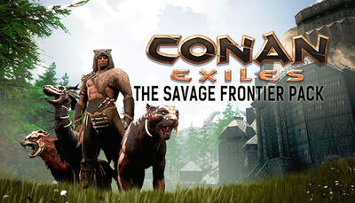 The Savage Frontier Pack DLC key art