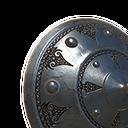 铁质小圆盾