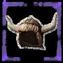 Cimmerian Fur Helmet