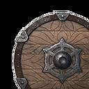 木质小圆盾