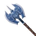 Exceptional Star Metal War Axe