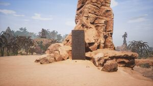 Giant-king Lorestone about Eastern Desert (west of The Dryfalls).jpg