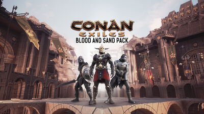 Blood and Sand Pack DLC key art
