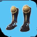 Flawless Black Dragon Sandals