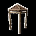 木制遮篷角