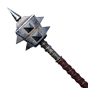 Exceptional Hardened Steel Mace