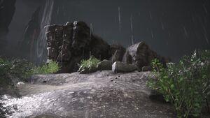 Lemurian Lorestone at Nordhof (rockformation between Nordhof and Meltwater Crag).jpg