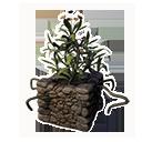 Decorative Planter (Golden Lotus)