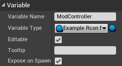 ModController variable