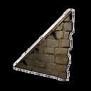 加固的左斜石墙