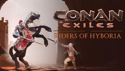 Riders of Hyboria Pack DLC key art
