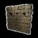 加固的石墙