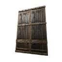 Insulated Wooden Gate