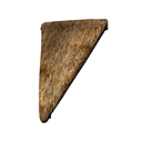 Inverted Thatch Wedge Sloped Roof