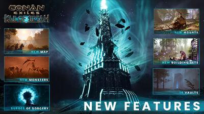Isle of Siptah DLC collage