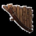 Flotsam Right-Sloping Inverted Wall