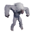 Taxidermied Yeti
